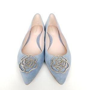 Taryn Rose | Fiona | Metallic | pointed toe | flat